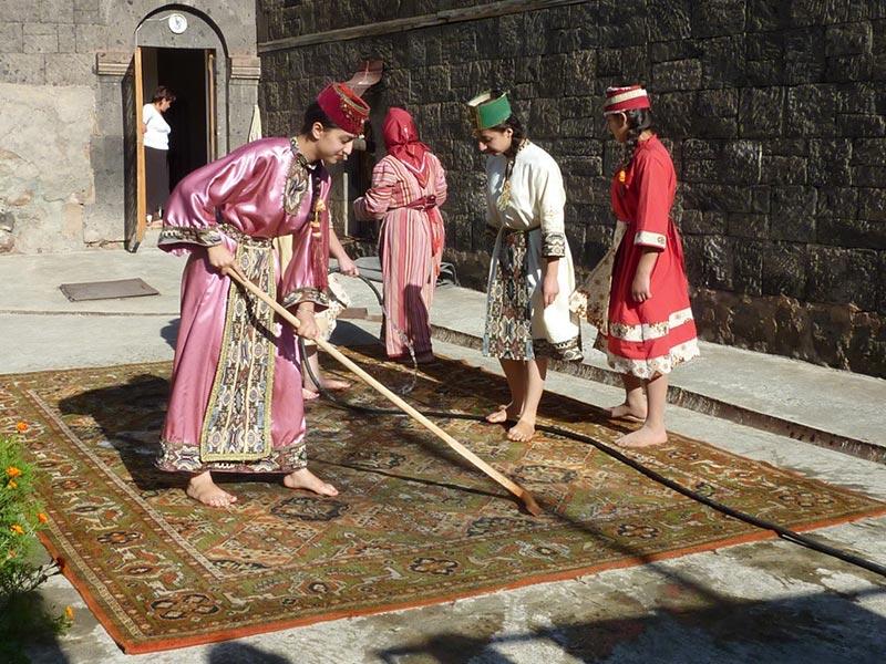Armenien  Teppich Michel  Teppiche aus aller Welt