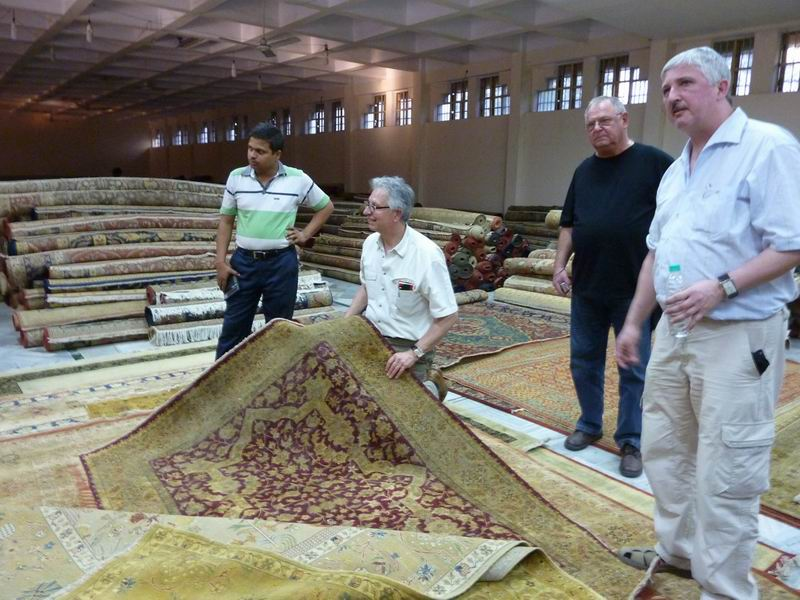 Reisebericht Indien  Teppich Michel  Teppiche aus aller Welt