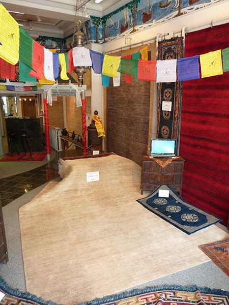 Sommerausstellung 2011  Teppich Michel  Teppiche aus